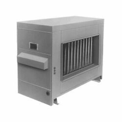 Reznor Rp-150 Gas Fired Duct Furnace - Power Vented - Ng - Aluminized Heat Ex...