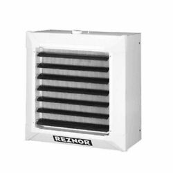 Reznor Ws-300/350 Suspended Hydronic Unit Heater - 2 Row Steel Coil - Hot Wat...