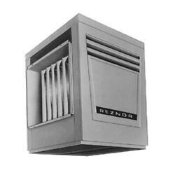 Reznor X-125 Gas Fired Duct Furnace - Gravity Vented - LP - Aluminized Heat E...