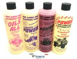 Power Plus Lubricants Fuel Additive Alcohol Top Lube - All Lubes - 16oz - Choose