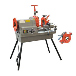Pipe Threading Machine 1/2 To 4 Npt Automatic Threader Cutter 1hp