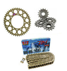 Bmw S1000rr Forged Wheel10-18 Renthal And Did Zvmx 520 Race Chain Sprocket Kit