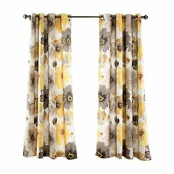 Lush Decor Leah Room Darkening Panel Pair