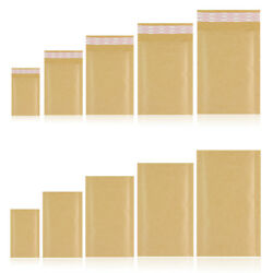BRANDED PADDED BUBBLE ENVELOPES GOLD BAGS SIZES A000 B00 D1 F3 G4 K7 GBP 52.95