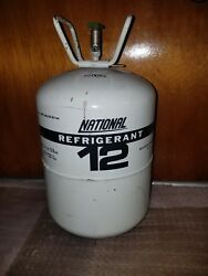 NATIONAL 30 lb FULL (R12 Refrigerant Tank R-12 container can