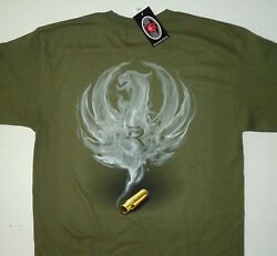 RUGER Firearms Smoked Men's T Shirt Lg - 3XL