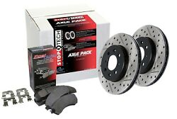 StopTech 935.37009 Street Axle Pack Fits 08-09 Cayenne Touareg
