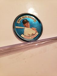 Rare 1964 Topps Coins Set 131 Mickey Mantle