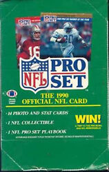 1990 Pro Set Football #1-350 - Complete Your Set (Pick 1 or Buy 7 For Free Ship)
