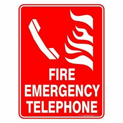 Fire Safety Signs - Fire Emergency Telephone