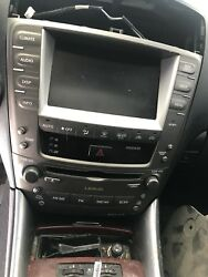 2006-2008 Lexus Navigation Radio Monitor Screen with Climate Controls