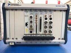 National Instruments NI PXI-1042 Chassis with Cards