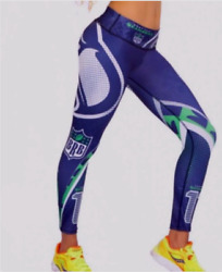 Colombian Compression Yoga Gym Pants Nfl Football Legging Seattle Seahawks New