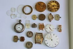 Mix Lot Of 195 Grams Broken Damaged Not Working Vintage Modern Watches As-is