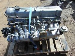 1976 Datsun 280z Engine- N47 Head-intake-exhaustetc.-complete Takeout-builder-t