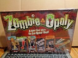 Late for the Sky Zombie-Opoly Board Game A Killer Game Fun Never Dies SEALED