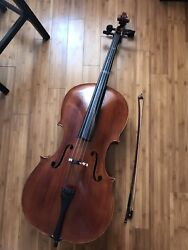 Full size 44 Cello with bow