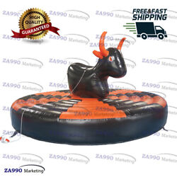 16ft Inflatable Manual Human Bull Riding Sport Game With Air Blower