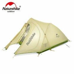 Naturehike Cirrus Ultralight Tent 2 Person 20d Nylon With Silicon Coated Camping