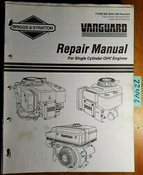 Briggs And Stratton Single Cylinder Ohv 85400-287700 Engine Repair Service Manual