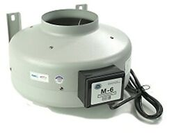 Tjernlund M-6 Inline Duct Booster Fan Hydroponic Blower Heat Air Conditioning