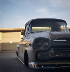 1955 To 1959 Chevy/gmc Truck Bagged Rear Suspension Complete Lay Frame Kustom