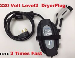 Level-2 For Bmw I3 I8 Electric Car Battery Ev Charger Dryer Plug In 220volt 23and039