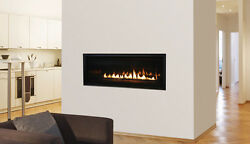 Superior DRL3054 Linear Clean Face Direct Vent Fireplace 54-inch Contemporary