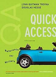 Quick Access Reference For Writers Paperback Lynn Quitman Troyka