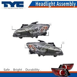 TYC Headlight Lamps Assembly Left &Right 2PCS For Mazda CX-9 14-15 Nsf Certified