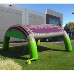 Inflatable Tent Green/purple