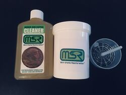Mint State Restoration 8 Oz. W/basket Coin And Artifact Ancient Bronze Cleaner