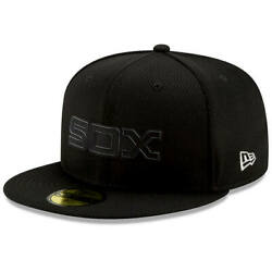Chicago White Sox New Era Black 2019 Clubhouse Collection 59FIFTY Fitted Hat $29.99