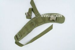Right Shoulder Strap For Eagle Btap Beaver Tail Assault Pack - Khaki - Usa Made