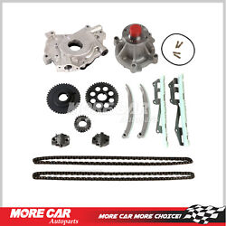 Timing Chain Kit Water Oil Pump Fit 97-01 Ford E150 F150 Explorer Expediton 4.6l