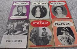 1950and039s 6 Queen Elizabeth Ii Booksking Georgeroyal Familyprincess Anneroyalty