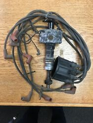 Ford V-8 Distributor With Cap And Wires Prestolite 5k9