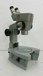 American Optical Ao Spencer Stereo Transmitted Microscope Cycloptic 7x - 25x
