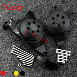 Engine Stator Case Plug Clutch Cover Protector For Yamaha FZ-09 MT-09 4 Color