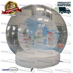 10ft Commercial Inflatable Christmas Photo Snow Globe Bubble With Air Blower