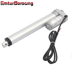 New Heavy Duty Linear Actuator 8 200mm Stroke 220 Pound Max Lift 12v Dc 8mm/s