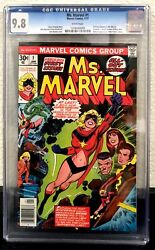 Ms. Marvel 1 Cgc 9.8 White Pages 1st Ms.marvel