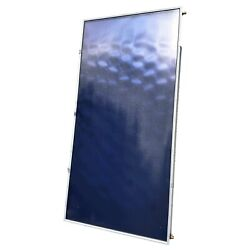 Solar Water Heater Flat Plate Collector Panel - Srcc Certified, 26 Tax Credit