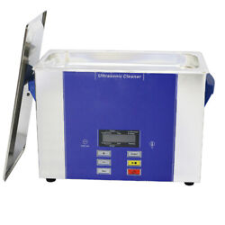 4l Digital Pcb Ultrasound Cleaners For Dental With Timer Heater Lcd Display
