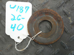 Mercedes Benz W187 Rear Axle Differential Mount Washer Cutting Disc