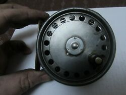 A1 Vintage Hardy Alnwick St George 3 Screw Trout Fly Fishing Reel 3 + 3/8ths