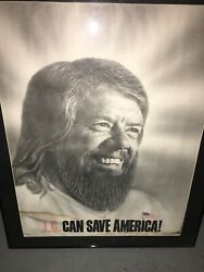 Jimmy Carter Campaign Poster 1976 Jc Full Size