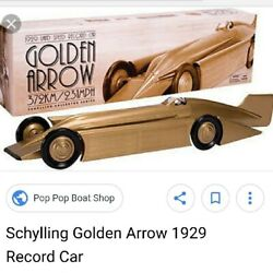 Golden Arrow diecast car tinplate? Only out of print