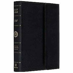 Esv Holy Bible English Standard Version, Bonded Leather With Magnet Closure, Bl