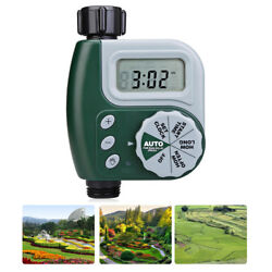 For Yard Garden Greenhouse Digital Single Outlet Hose Faucet Timer Auto Control
